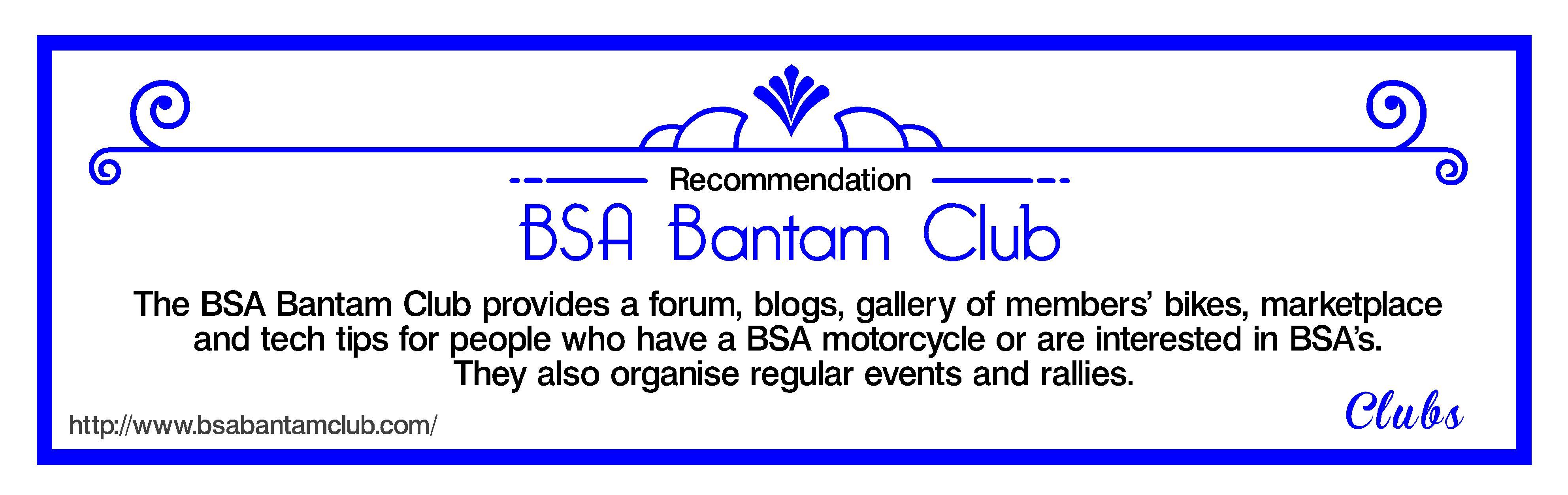 Bantam Club