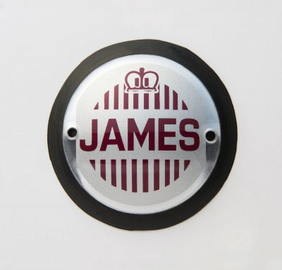 James Tank Badges